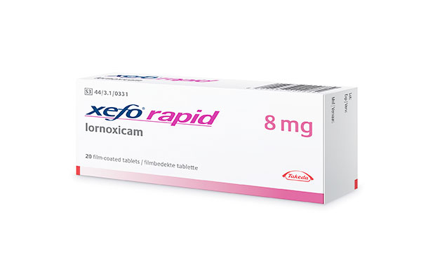 Xefo Rapid 8 mg
