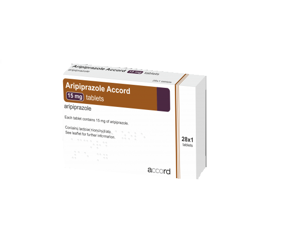 Aripiprazole Accord 15 mg