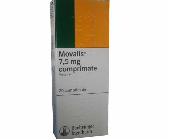 Movalis comprimate 7,5 mg