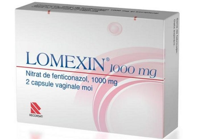 Lomexin capsule vaginale moi 1000 mg